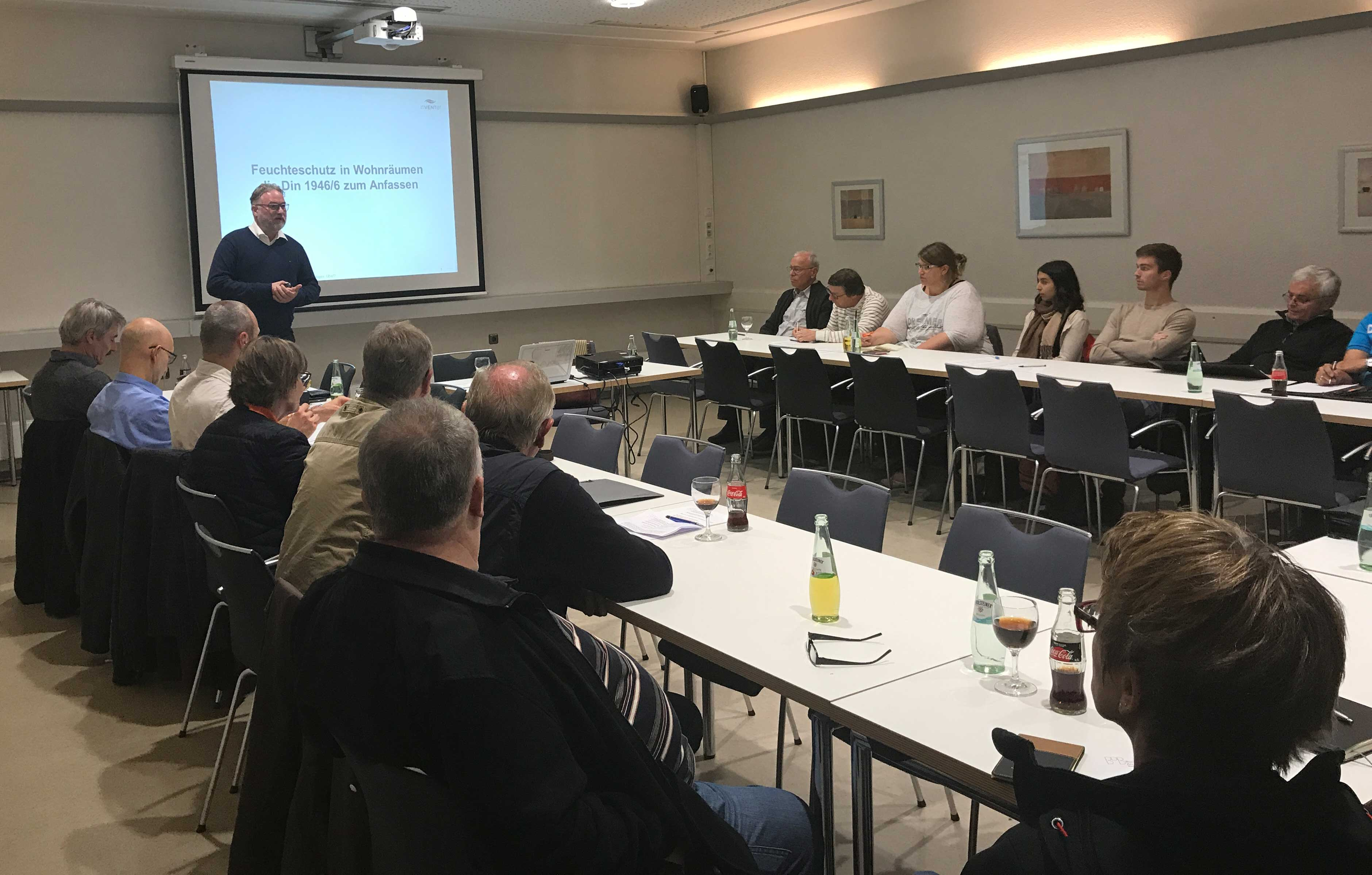 Referent Joachim Schrader, Gebäudeenergieberater