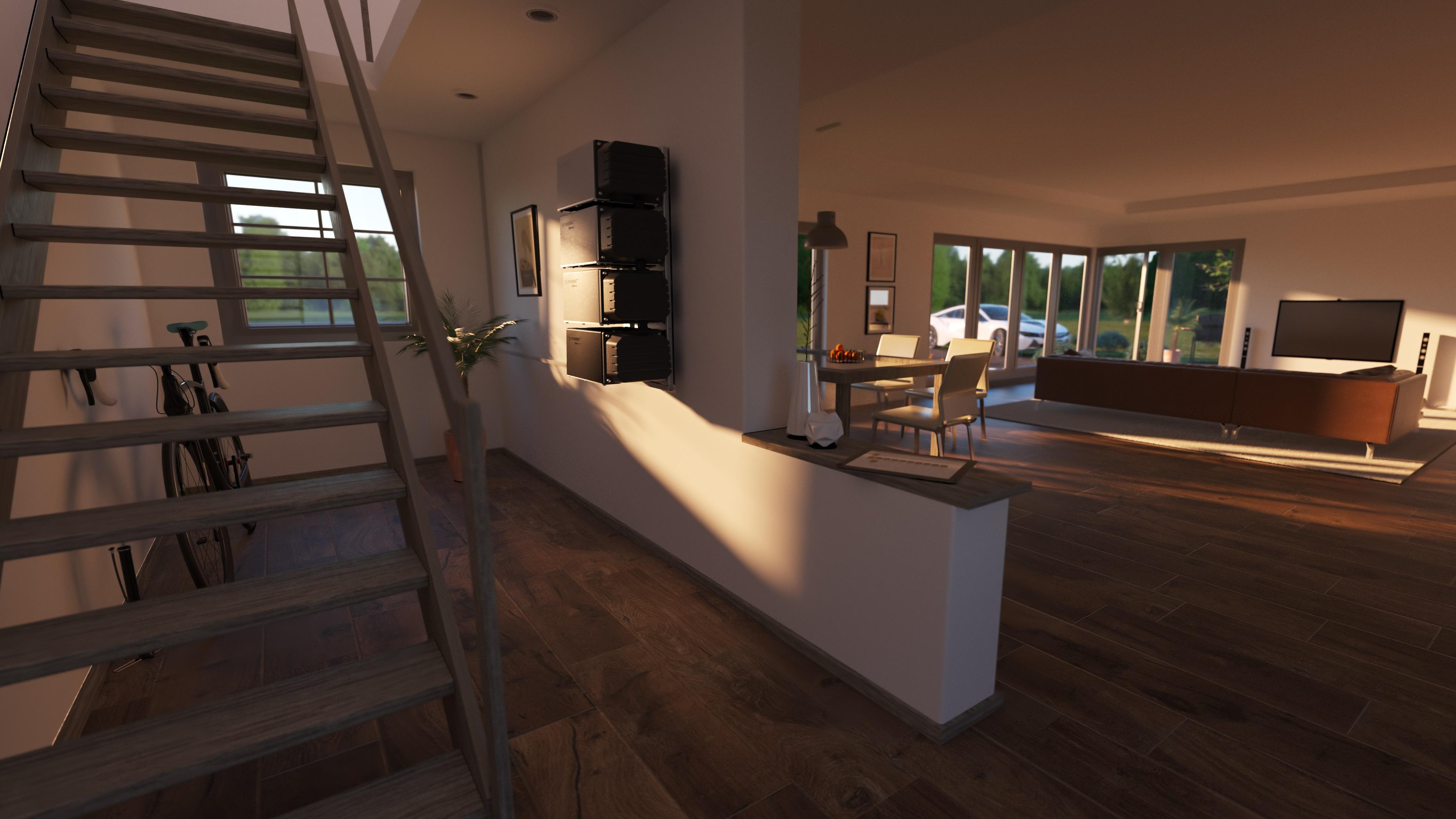 Solarenergie für Einfamilienhaus