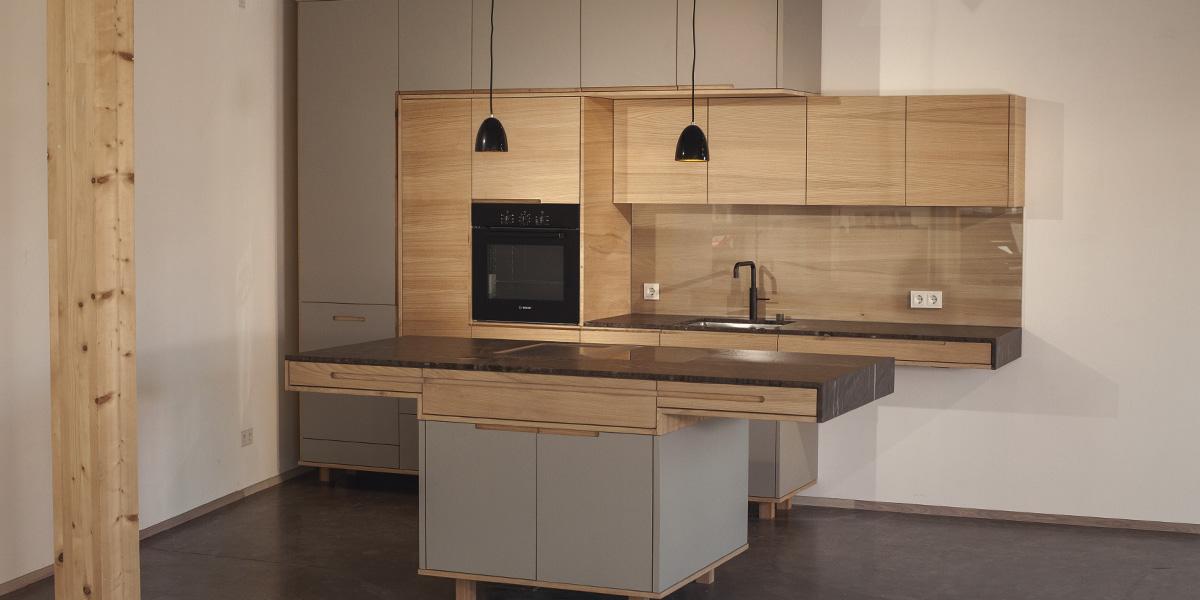 Küche In Einer Ausstellung